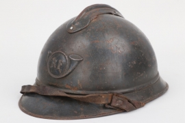 France - M1915 Adrian helmet for mountain troops