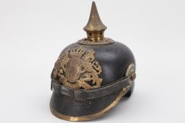 Bavaria - M1886 Infanterie spike helmet - EM/NCO