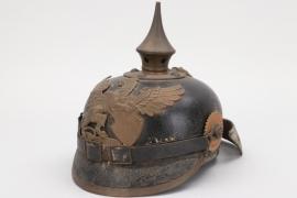 Baden - M1886 infantry spike helmet - EM/NCO