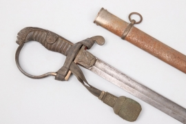 Prussia - artillery lion's head sabre for a Wachtmeister