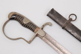 Prussia - artillery parade sabre with etched blade