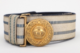 Bavaria - officer's parade buckle & belt