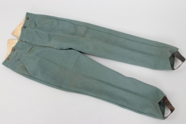 "Prussia - straight trousers for ""Jäger zu Pferde"" regiments"