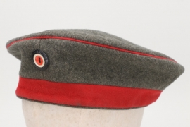 Imperial Germany - M1907 infantry field cap (Krätzchen) - EM