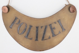 Imperial Germany - Police gorget