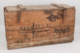 Imperial Germany - transport box for hand-stick grenades