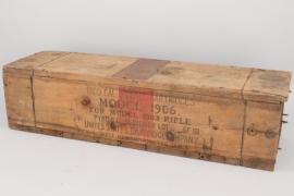 USA - Ammunition box infantry ammunition