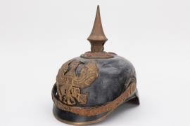 Prussia - M1897 infantry spike helmet - officer