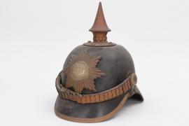 Mecklenburg-Strelitz - M1867 II. Btl. Grenadier-Regiment Nr. 89 spike helmet - EM/NCO