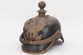 Prussia - M1871 Fußartillerie spike helmet - EM/NCO