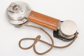 Imperial Germany - Feldfernsprecher 14 artillery telephone hearer