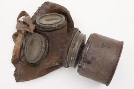 Weimar Republik - Reichswehr gas mask for special filter