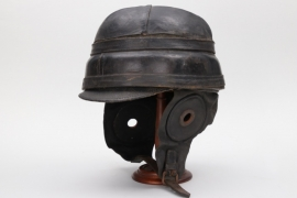 "Imperial Germany - pilot's crash helmet ""Roold pattern"""