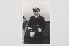 Portrait photo German navy officer