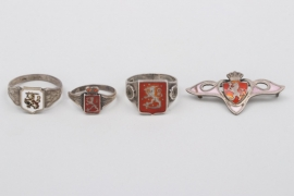 4 +  Norway and Finland - silver jewelry