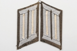 Heer Infanterie unknown officer's collar tabs