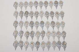 50 x HJ cap Edelweiss badge Gruppe Hochland
