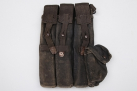Wehrmacht MP38/40 ammunition pouch - webbing material