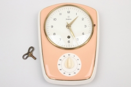Junghans - 50s kitchen clock with timer