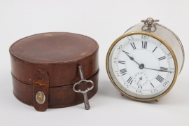 France - Officer's/field alarm clock ca. 1880