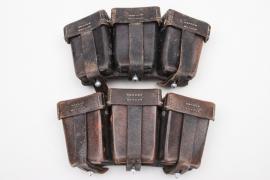 Wehrmacht 2 x K98 ammunition pouches