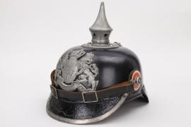 Bavaria - 14.I.R. EM/NCO spiked helmet M1915