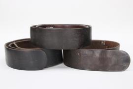 3x Wehrmacht/HJ belts