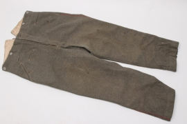 Imperial Germany - M1915 straight field trousers - EM