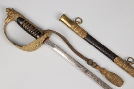 Italy - airforce officer's sword with portepee