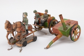 "Hausser toy ""Feldküche"" carriage"