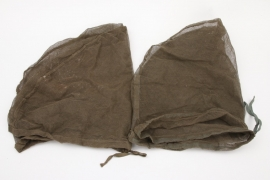 2x Wehrmacht mosquito face net