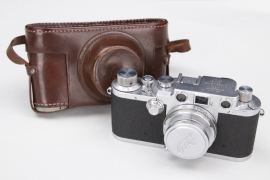 Third Reich LEICA camera with case