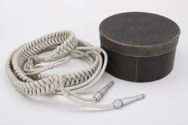 Wehrmacht officer's aiguillette in box - EREL