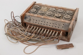 Imperial Germany - radio operator switch box