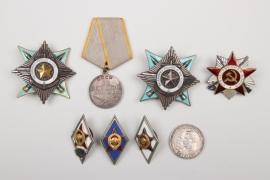 8 + Soviet Union - badges