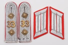 Heer Artillerie-Rgt. 33 insignia set - Hauptmann