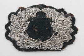 Heer officer's visor cap wreath