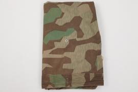 Wehrmacht (brown pattern) splinter camo Zeltbahn - unissued