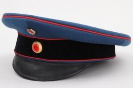 Baden - officer's Feldartillerie visor cap
