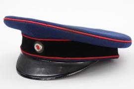 Imperial Germany - artillery visor cap
