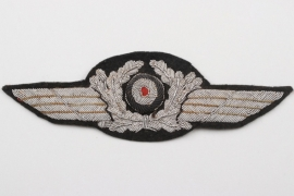 Luftwaffe officer's visor cap wreath