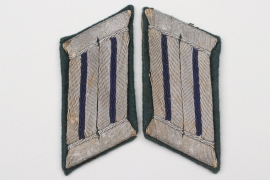 Heer medic officer's collar tabs