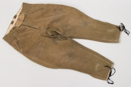 Heer M42 tropical cord breeches
