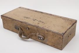 Wehrmacht tank MG tool box