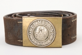 Imperial Germany - Kaiserliche Marine belt and buckle