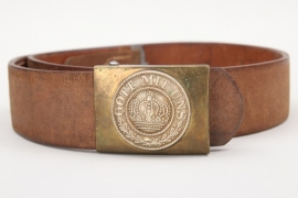 Prussia - F.A.R.74 belt with buckle - EM/NCO