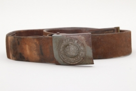 Prussia - field belt & buckle - 1915