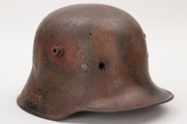 "Imperial Germany - M16 ""mimikry"" camo helmet - battle damaged"