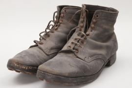 Imperial Germany - officer's field shoes