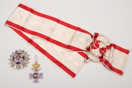 Montenegro - Order of Prince Danilo, 1st Class Grand Cross